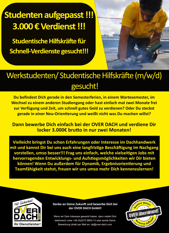 Studenten Job 3000€